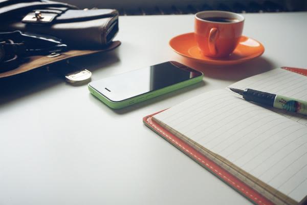 勉強机の風景