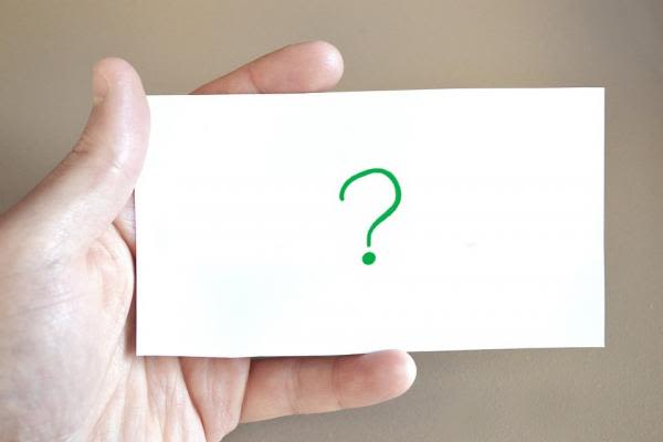 暗記カードのイメージ