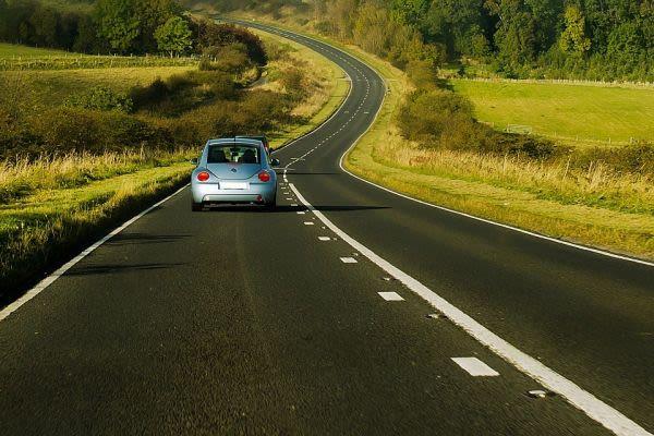 広大な道路