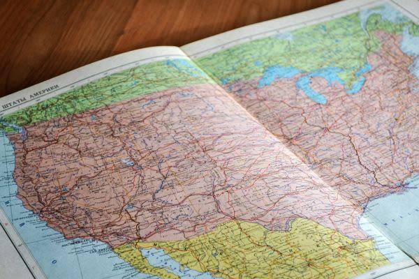 地図帳の画像