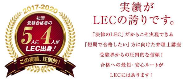 LECの合格実績