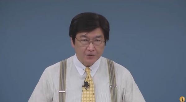 伊藤塾長の講義風景
