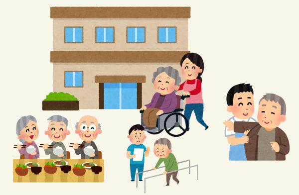 元気に生活する高齢者