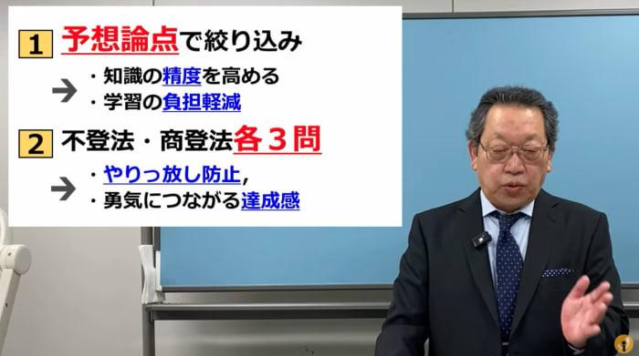 伊藤塾司法書士講座の講義風景