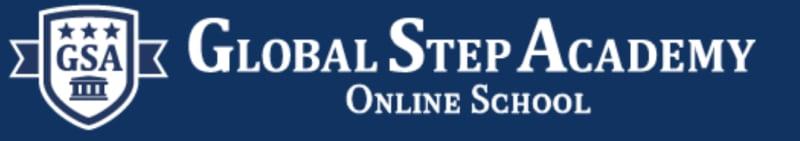 オンラインインターナショナルスクールGlobal Step Academyのロゴ