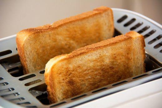 美味しそうなトースト