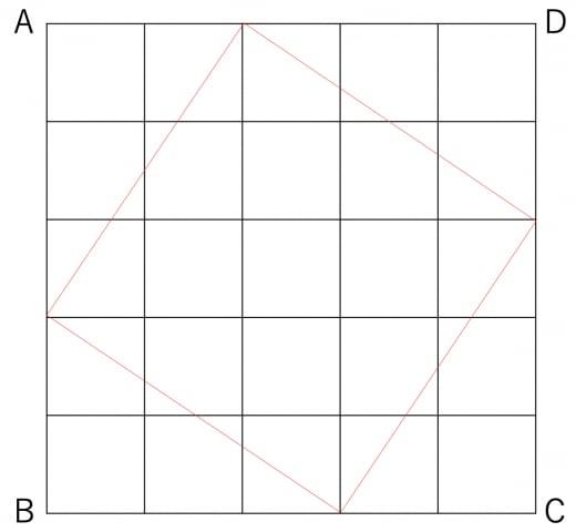 オリジナル図形問題3の解答