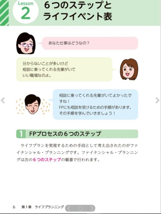 ユーキャンのテキストページ