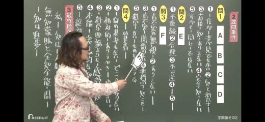 スタディサプリの国語の授業