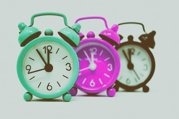 時計が三つ