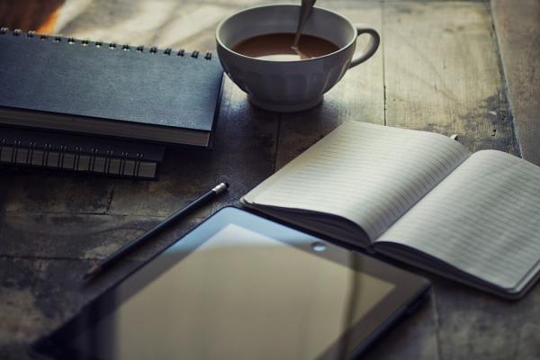 ノートと紅茶