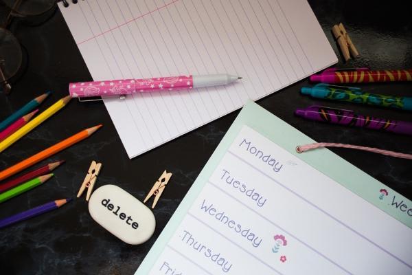 勉強道具の画像