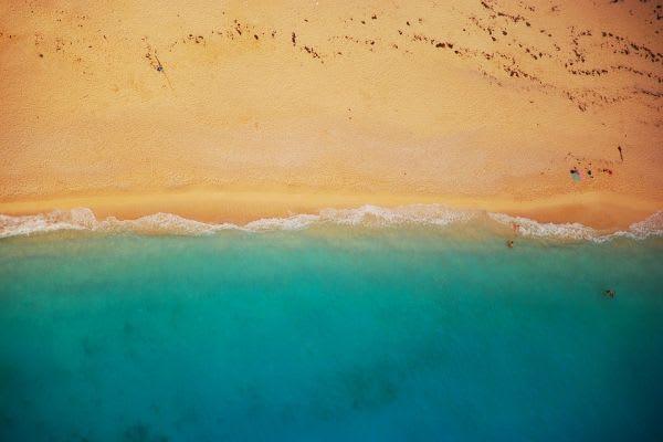 浜辺の画像