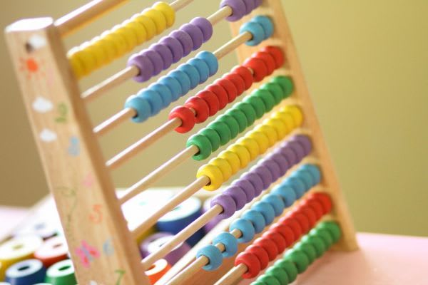 知育玩具の画像