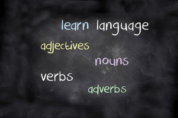 英単語の並んだ画像