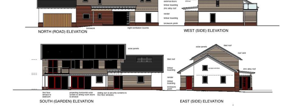 Low Energy House Design Haydn Bennett Chartered Architect