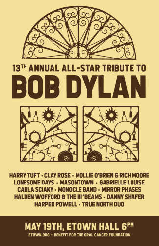 13th Annual All-Star Tribute to Bob Dylan, eTown Hall, Boulder 2019