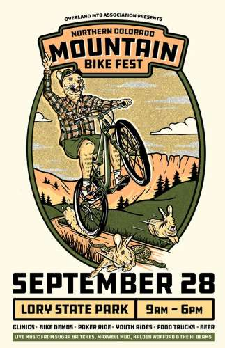 Northern Colorado MTB Festival Septermber 2019  w/Sugar Britches and Hi*Beams