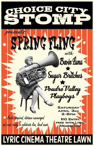 Choice City Stomp - Spring Fling 2021 w/Sugar Britches