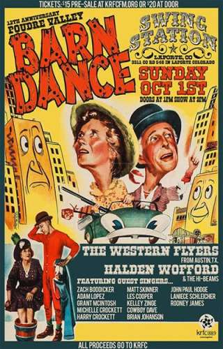 Poudre Valley Barn Dance 2018.