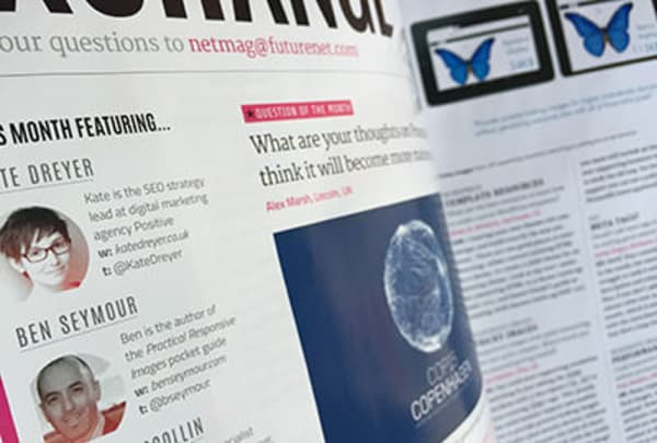 .net magazine - exchange expert panel