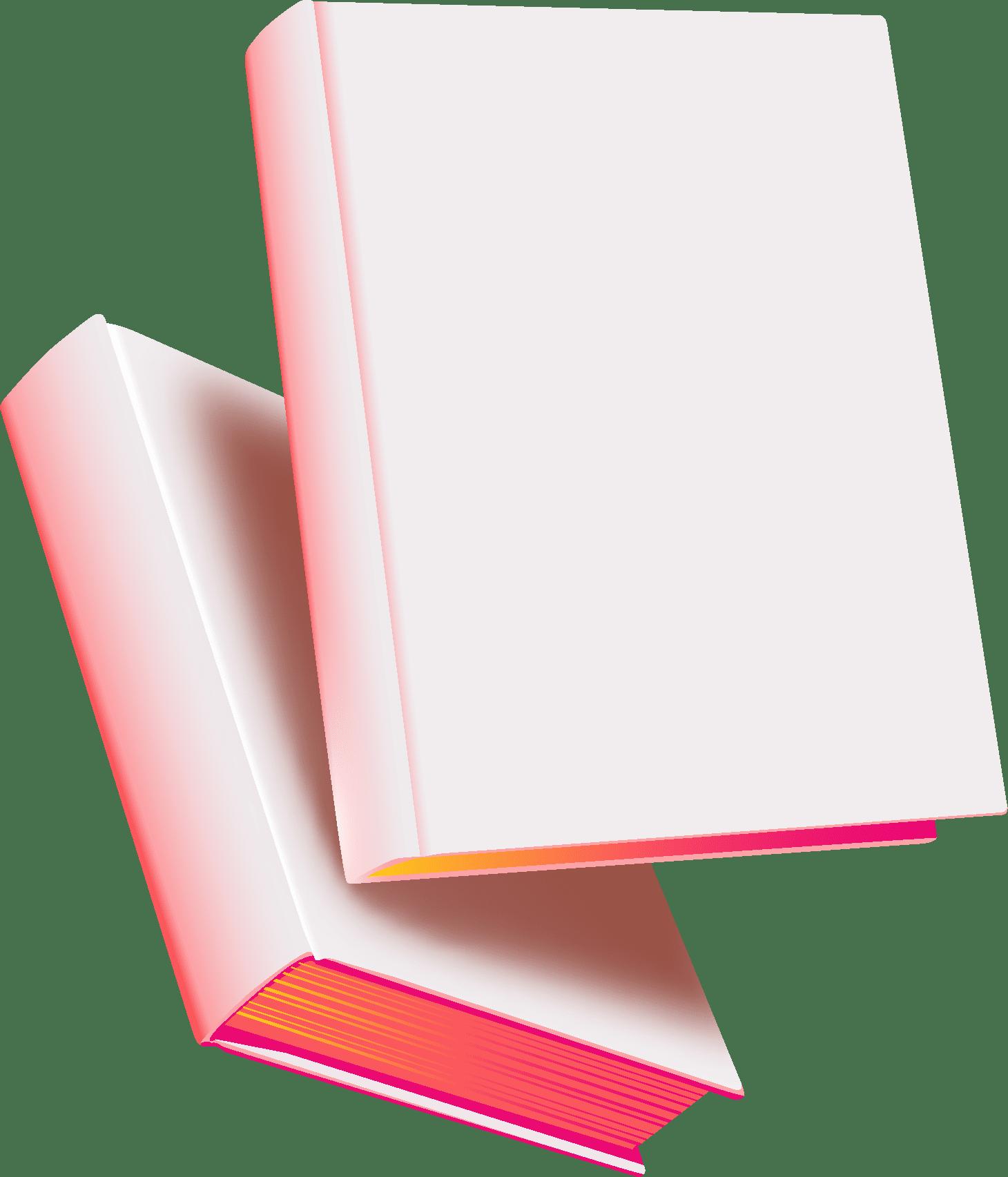 2 livres sans couverture en lévitation