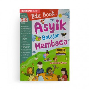 Edu Book Asyik Belajar Membaca