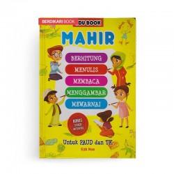 Edu Book Mahir Berhitung Menulis Membaca Menggambar Mewarnai