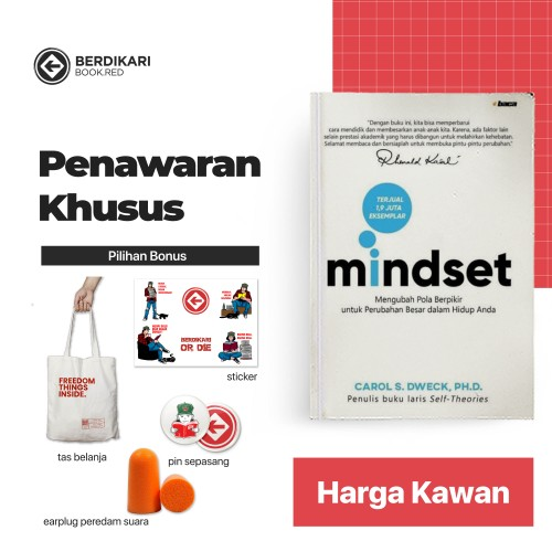 MINDSET Mengubah Pola Pikir untuk Perubahan Besar dalam Hidup Anda [Edisi 2019]