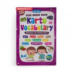 Seri Dunia Anak Kartu Vocabulary