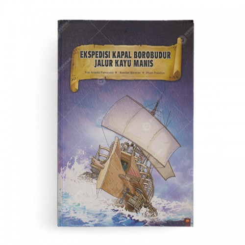 Ekspedisi Kapal Borobudur Jalur Kayu Manis