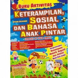 Buku Aktivitas Keterampilan Sosial dan Bahasa Anak Pintar