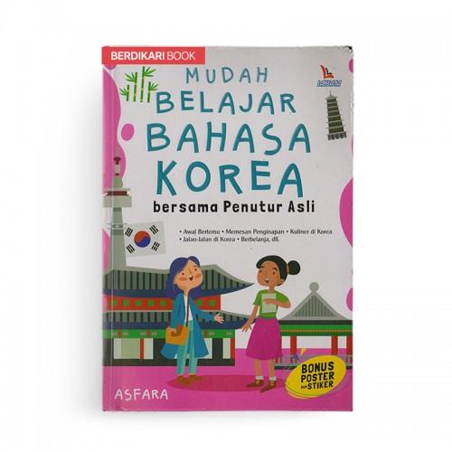 Mudah Belajar Bahasa Korea Bersama Penutur Asli