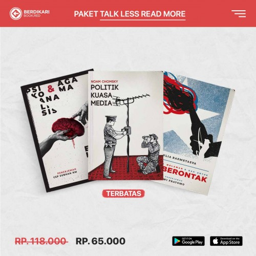 Paket Talk Less Read More 3
