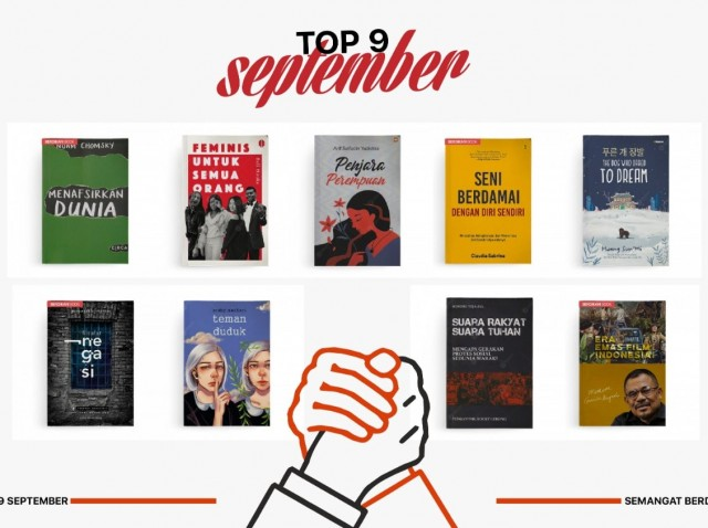 9 Buku Terlaris di Bulan September