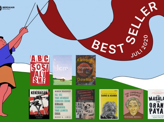 9 Buku Terlaris di Bulan Juli
