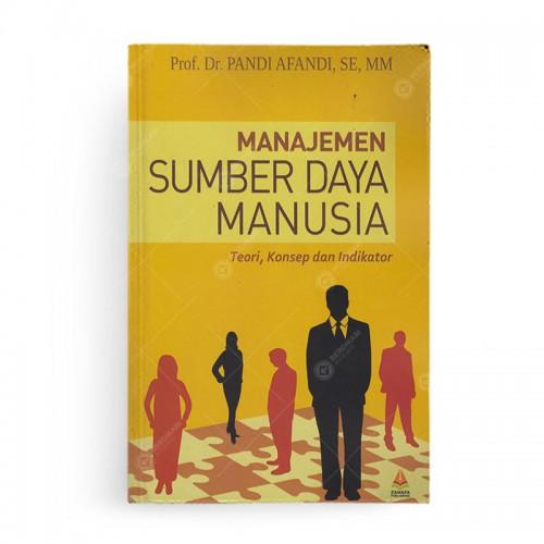 Manajemen Sumber Daya Manusia Teori Konsep Dan Indikator