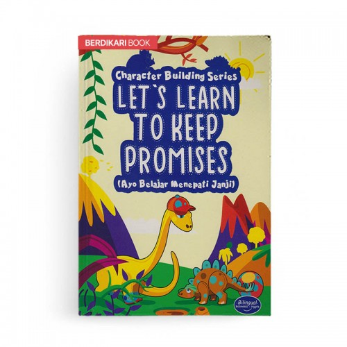 Character Building Series Lets Learn To Keep Promises