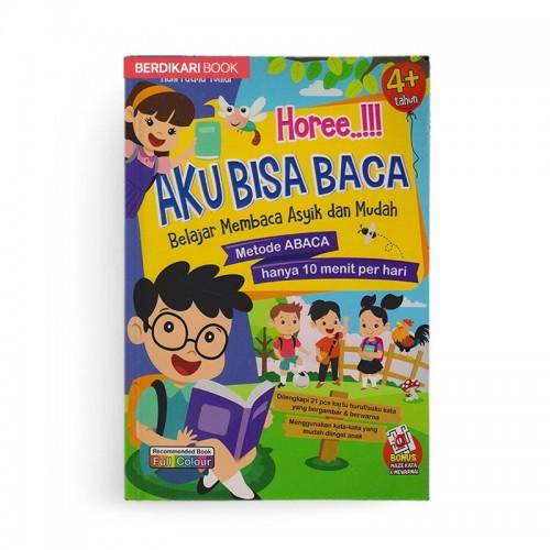 Hore Aku Bisa Baca Belajar Membaca Asyik dan Mudah