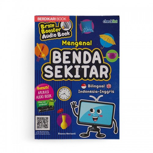 Mengenal Benda Sekitar Brain Booster Audio Book