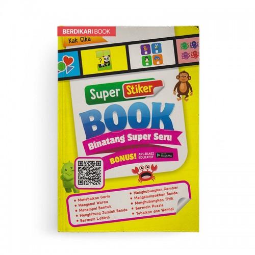 Super Stiker Book Binatang Super Seru