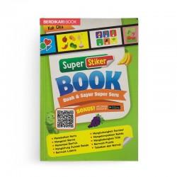 Super Stiker Book Buah Dan Sayur Super Seru