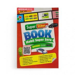 Super Stiker Book Mobil Super Seru