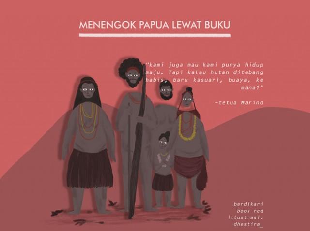 Menengok Papua Lewat Buku