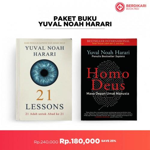 Paket Homo Deus dan 21 Lessons