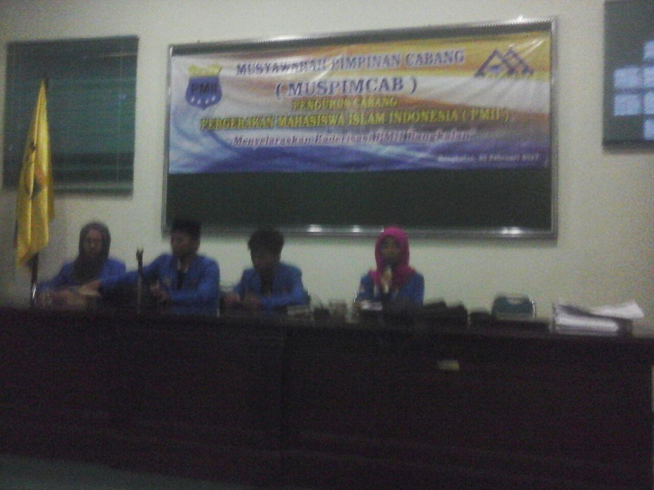 Mapimcab PMII Bangkalan Berlangsung 3 Hari