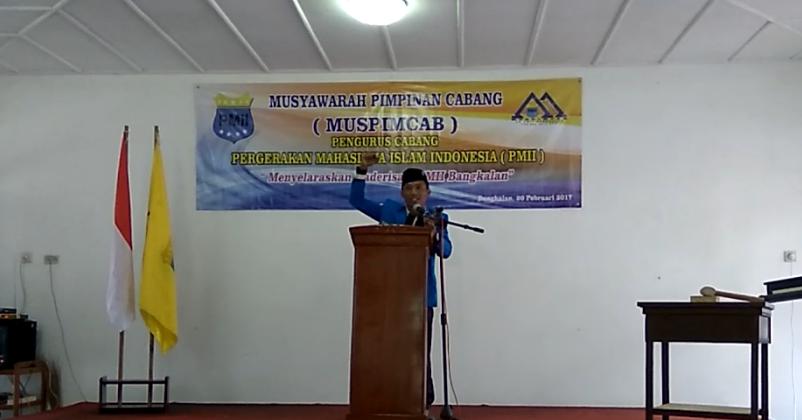 PC PMII Bangkalan Gelar Muspimcab