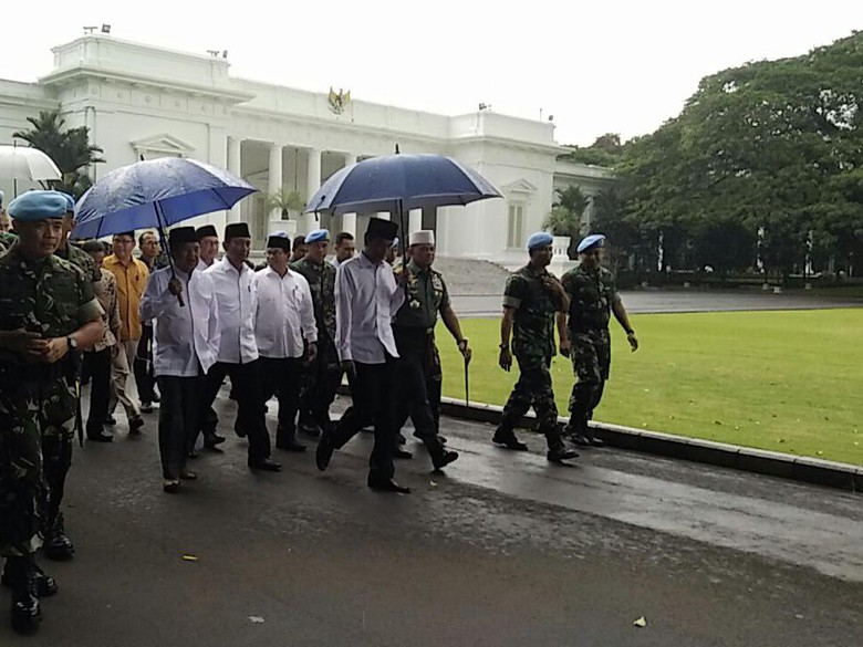 Inilah Pidato Presiden Jokowi dalam Aksi Super damai 2 Desember