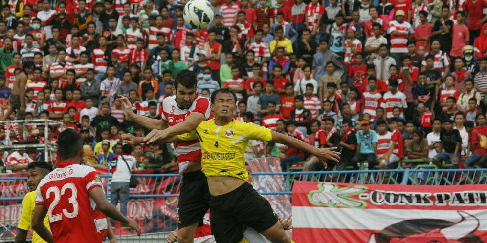 Prediksi dan Head To Head Madura United Vs Semen Padang 1 Desember 2016