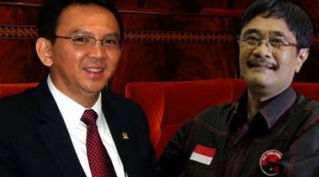 Resmi PDIP Sandingkan Ahok-Djarot di Pilgub DKI Jakarta